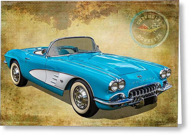 Little Vette Greeting Card