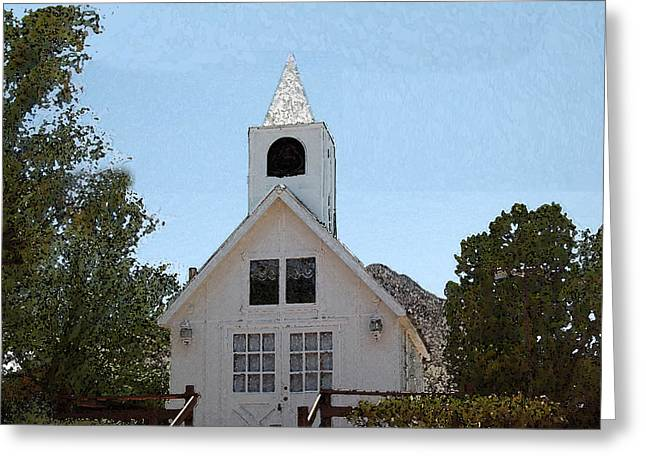 Little White Church Greeting Card