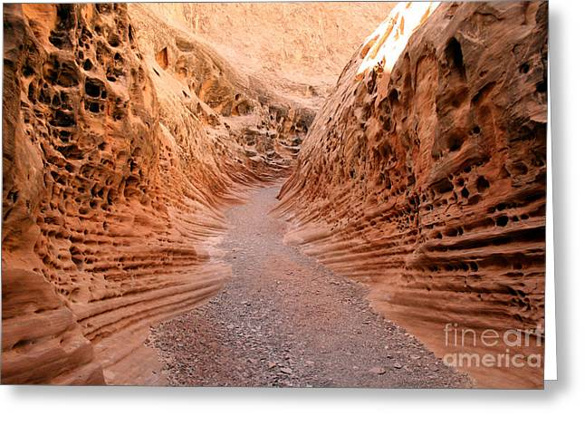 Greeting Card featuring the photograph Little Wild Horse Canyon by Andrew Serff