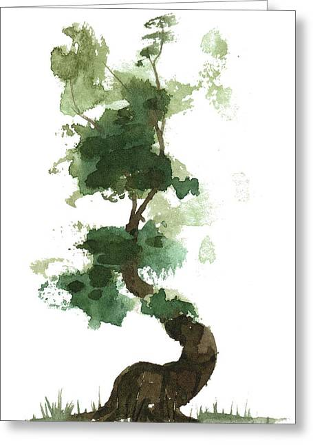 Little Zen Tree 154 Greeting Card