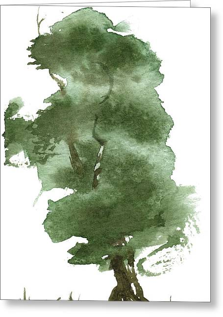 Little Zen Tree 162 Greeting Card