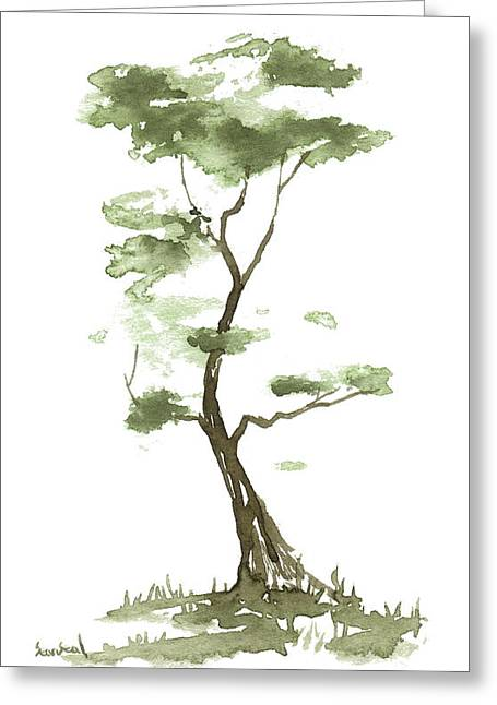 Little Zen Tree 204 Greeting Card
