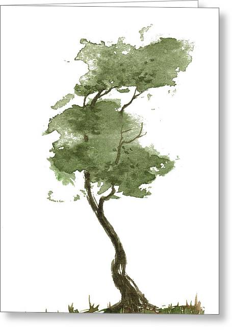 Little Zen Tree 206 Greeting Card
