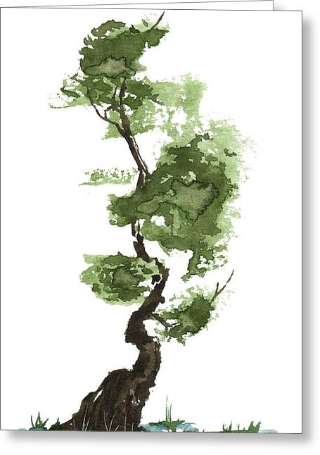 Little Zen Tree 207 Greeting Card
