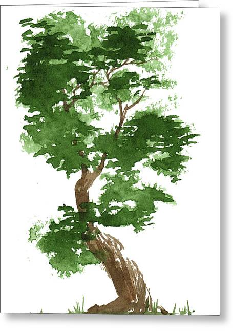 Little Zen Tree 311 Greeting Card