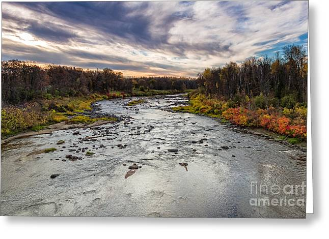Littlefork River Greeting Card