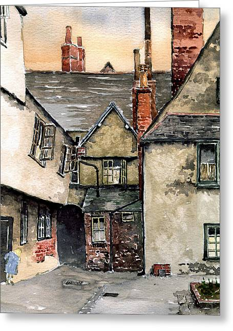 Littlemore Court. Oxford. Greeting Card