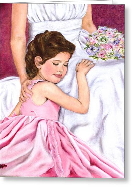 Littlest Wedding Belle Greeting Card