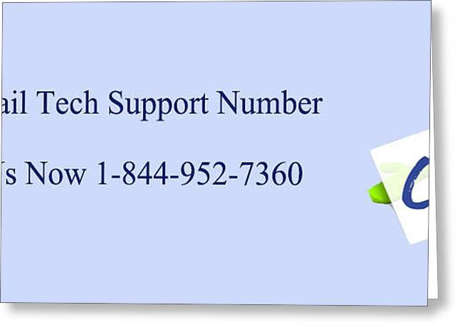 Live Mail Support Contact Number For Usa Users Greeting Card