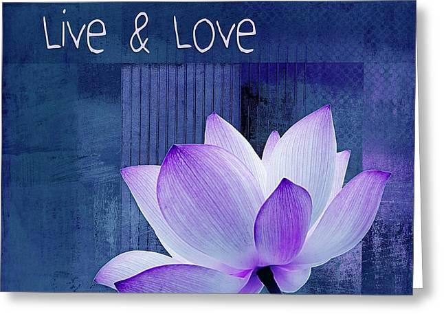 Live N Love - 123 Greeting Card