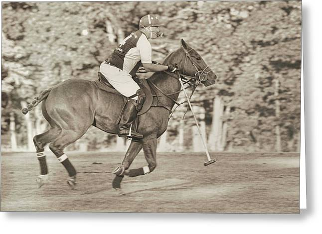 Greeting Card featuring the photograph Live To Ride by Dressage Design