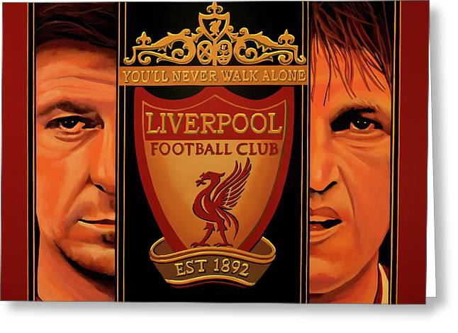 Liverpool Painting Greeting Card