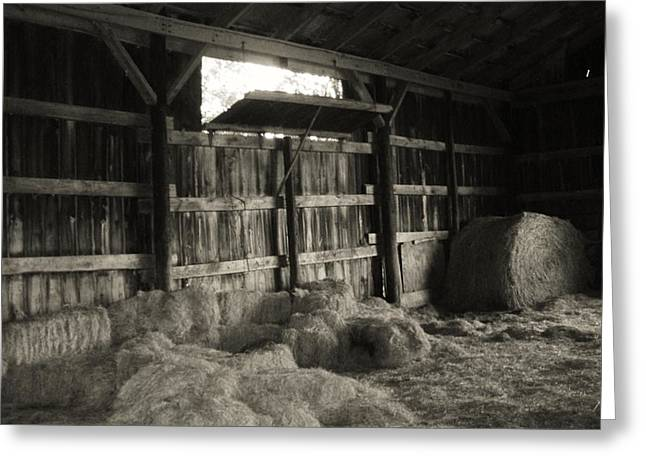 Livestock Barn In Kentucky Greeting Card