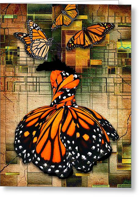 Greeting Card featuring the mixed media Living A Life With No Boundaries by Marvin Blaine