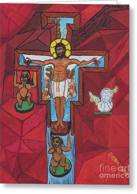 Living Christ Ascending Greeting Card