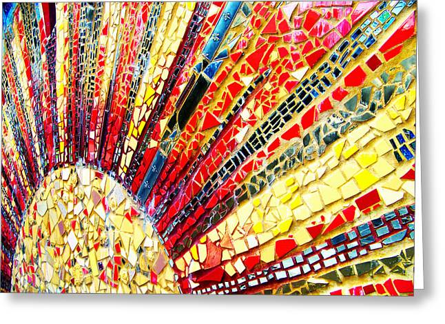 Living Edgewater Mosaic Greeting Card