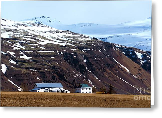 Living In Iceland Greeting Card
