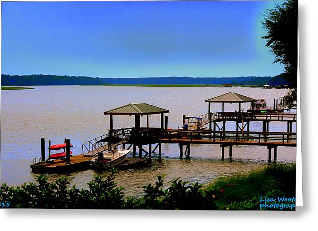 Greeting Card featuring the photograph Living In The Lowcountry by Lisa Wooten