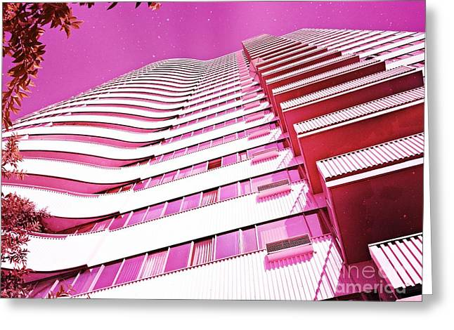 Living Pink Greeting Card