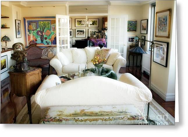 Living Room Iv Greeting Card