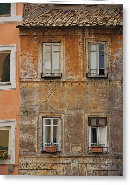 Living Trastevere Greeting Card by JAMART Photography