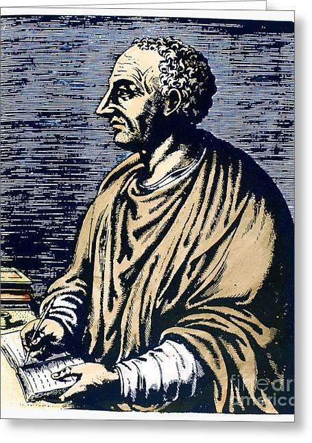Livy (59 B.c.-17 A.d.) Greeting Card by Granger
