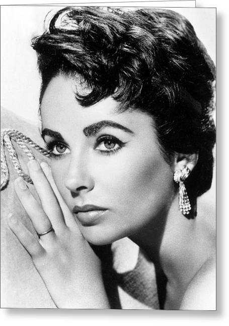 Liz Taylor Greeting Card