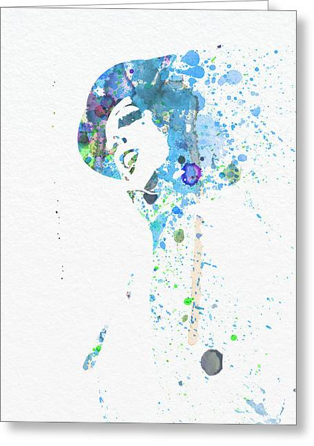 Liza Minnelli Greeting Card by Naxart Studio