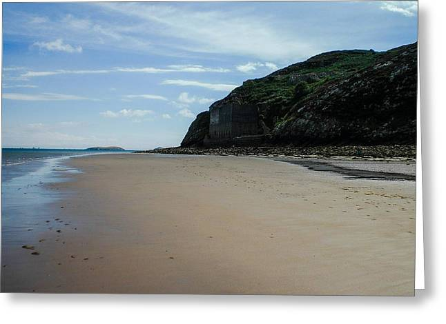 Llandbedrog Headland, Lleyn Peninsula, North Wales Greeting Card