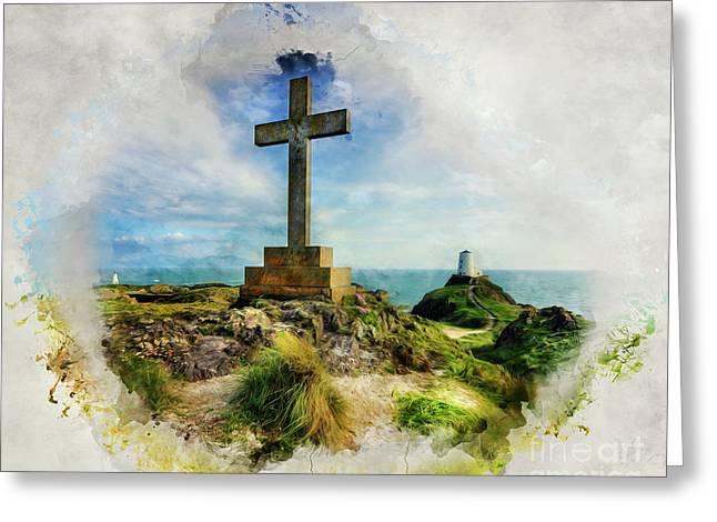 Llandwyn Island Greeting Card