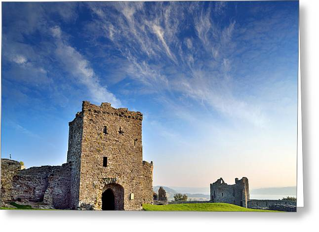 Llansteffan Castle 1 Greeting Card