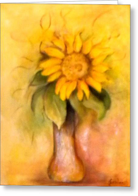 Llittle Sun Flower Greeting Card