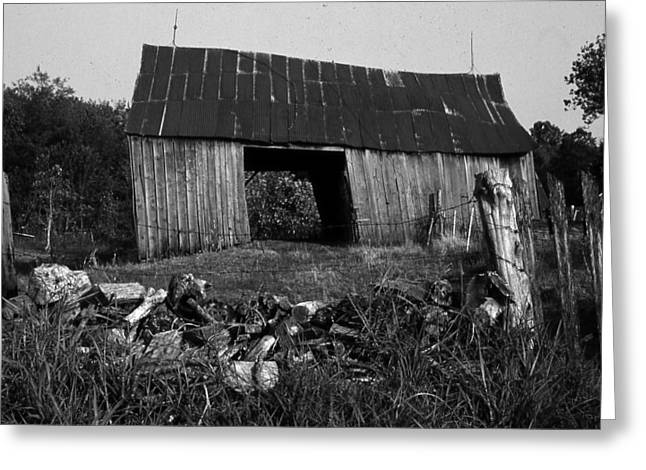 Lloyd-shanks-barn-4 Greeting Card by Curtis J Neeley Jr