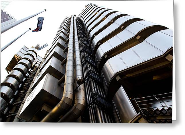 Lloyds Building London  Greeting Card