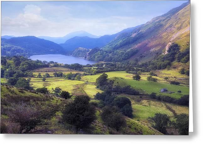 Llyn Gwynant - Wales Greeting Card by Joana Kruse