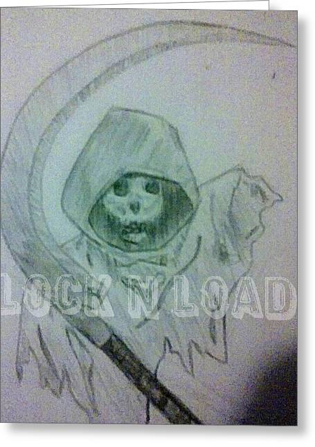 Lnl Reaper Specter Greeting Card