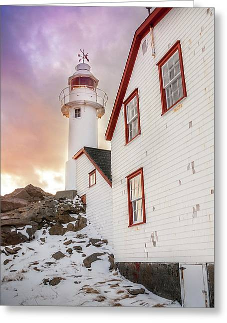 Lobster Cove Head Lighthouse #3 Greeting Card