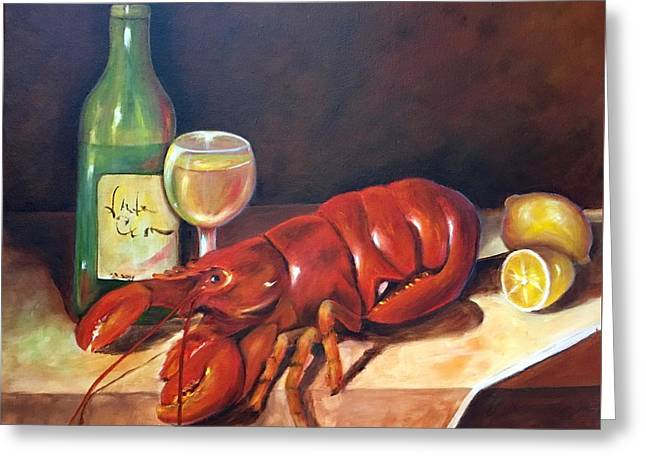 Lobster Fest  Greeting Card