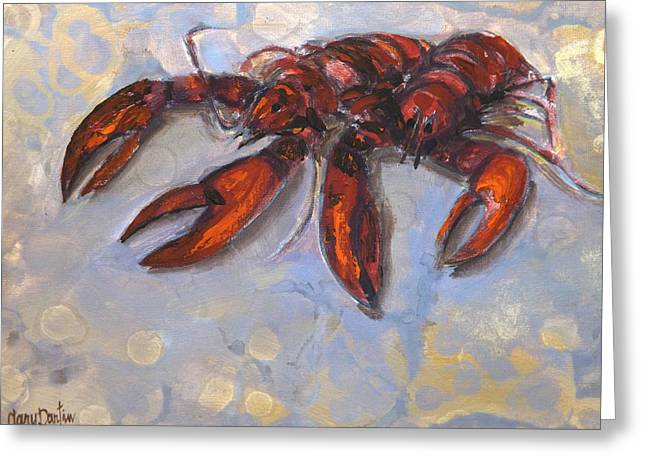 Lobster Find Greeting Card