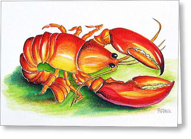 Lobster Greeting Card