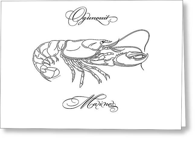 Ogunquit Maine Greeting Card