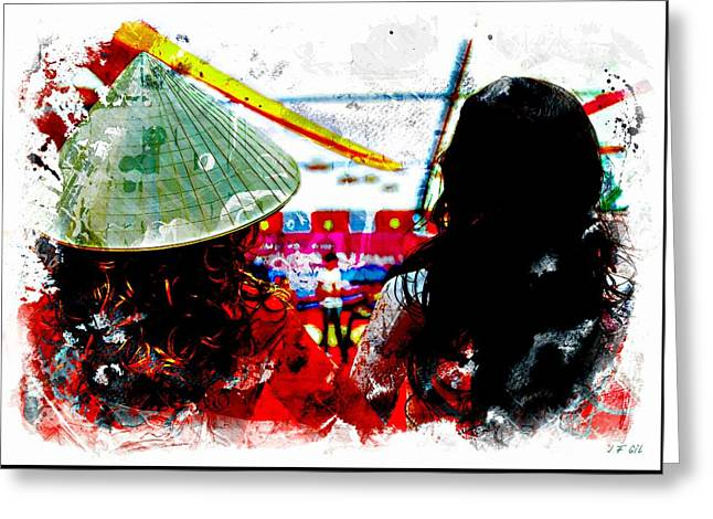 Local Contrast Greeting Card by Jean Francois Gil