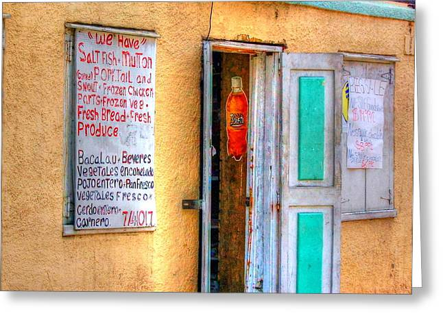 Local Store Greeting Card by Debbi Granruth