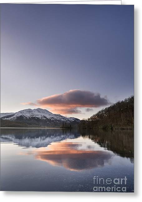 Loch Achray And Ben Venue 1 Greeting Card