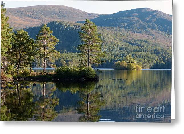 Loch An Eilein - Cairngorms National Park Greeting Card