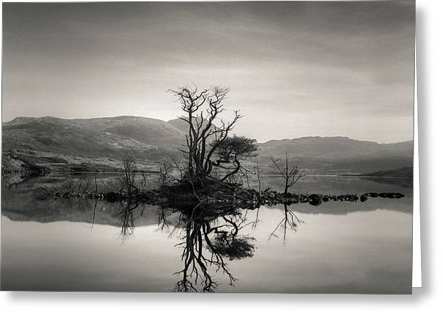 Loch Assynt Reflection Greeting Card