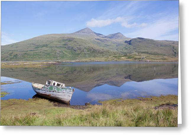 Loch Beg Reflections Greeting Card