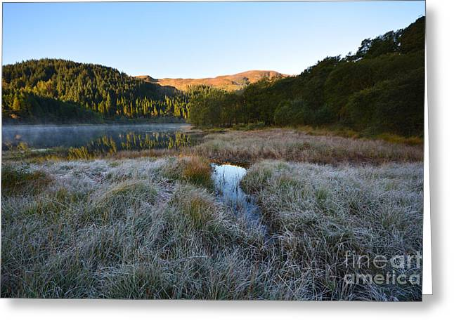 Loch Chon Greeting Card