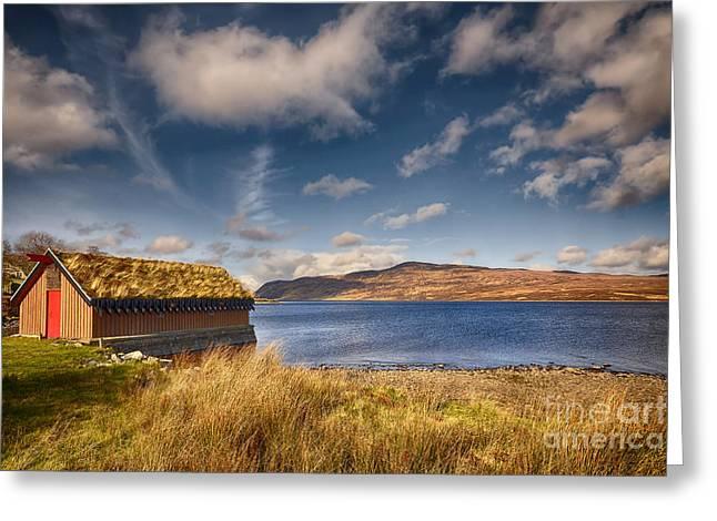 Loch Hope Greeting Card by Nichola Denny