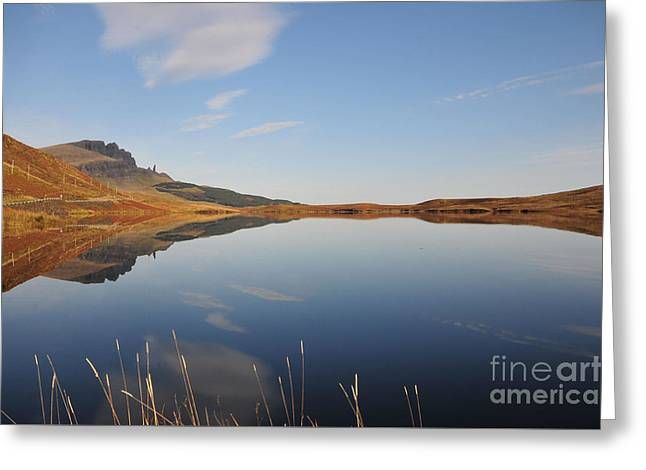 Loch Leatham Greeting Card